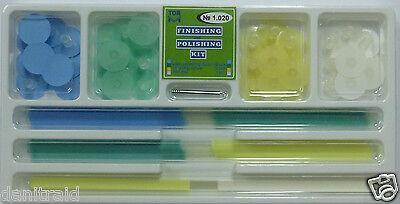 Dental Composite Finishing Polishing Steam Discs assorted kit 48pcs strips 75pc