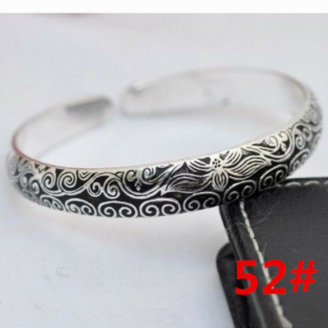Hot! ! !!!!!!!!New Tibetan Tibet silver Totem Bangle Cuff Bracelet 28 style