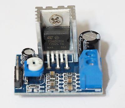 DIY KIT TDA7377 10-12 VAC 12-15VDC Car Motorcycle Amplifier Module 2x20W BTL AMP