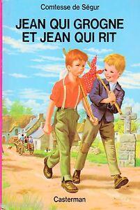 Jean-qui-grogne-et-Jean-qui-rit-Collection-Comtesse-de-SEGUR-Casterman