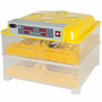 96 Digital Clear Egg Incubator Hatcher Automatic Egg Turning Temperature Control on Sale