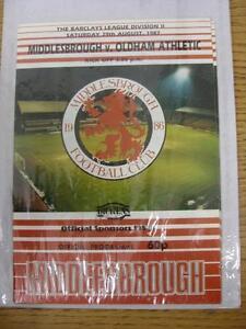 29081987 Middlesbrough v Oldham Athletic  No Obvious Faults - Birmingham, United Kingdom - 29081987 Middlesbrough v Oldham Athletic  No Obvious Faults - Birmingham, United Kingdom