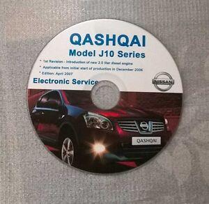 pdf nissan qashqai workshop manual
