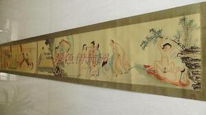ancient-calligraphy-and-painting-art-collection-hanging-picture-watch-Sex-230cm