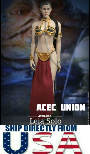1//6 Star Wars Princess Leia Organa Slave Outfit Set For PHICEN USA IN STOCK