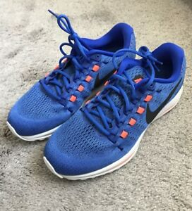 21f56a08eadef Nike Zoom Vomero 12 Shoes Sneakers New Men s Size 9 Blue 863762 400 ...