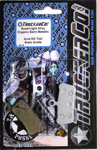 TruckerCo Disc Brake Pads AVID X0 Trail sram Guide r rs rsc ultimate T AL6