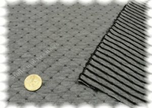 Alba-grau-Stepp-Sweatshirtstoff-Doubleface-Hilco-Rauten-Streifen-25-cm