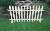 Timber Freestanding Picket Fence Panels Smooth Timber 6ft X 3ft X 10 Panels 60ft