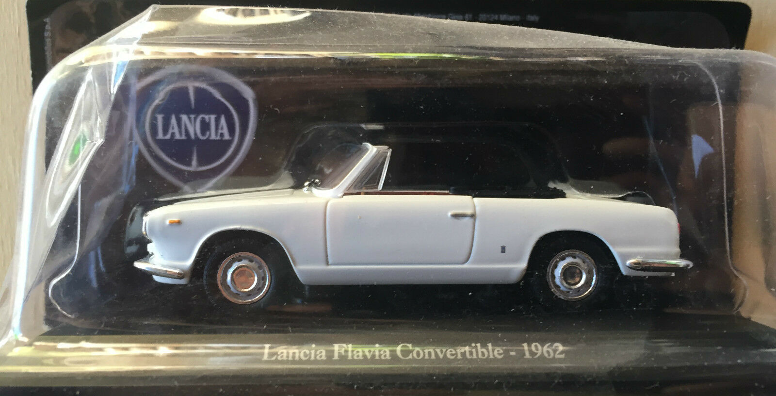 DIE CAST     LANCE FLAVIEN CONVERTIBLE - 1962    TECA RIGIDA BOÎTE 2 ÉCHELLE 1 43 acb81a