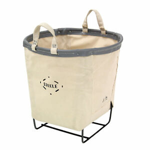 Steele Canvas Round Carry Basket