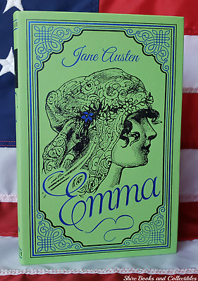 Emma by Jane Austen Unabridged Deluxe Soft Leather Feel Collectible Classics