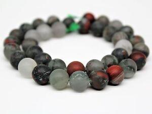 Matte Africa Red Jasper Gemstone Round Beads For Bracelet Necklace Beawork6-10mm