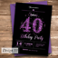 Personalised-Birthday-Invitations-any-age-18th-21st-40th-50th-Design-20 thumbnail 31