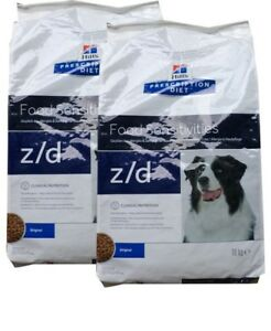 2x10kg-Hills-Prescription-z-d-Food-Sensitivities-Allergie-amp-Hautpflege