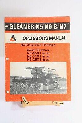 Gleaner Combine Serial Numbers