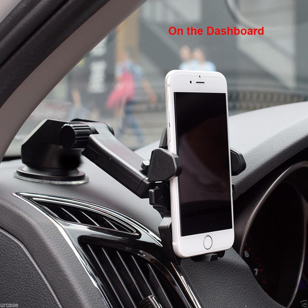 Car Parts 360° Adjust Mobile Phone Mount Bracket Holder Stand Cradle Decoration