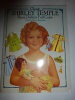 Classic Shirley Temple Paper Dolls In Full Color, 1986 B218