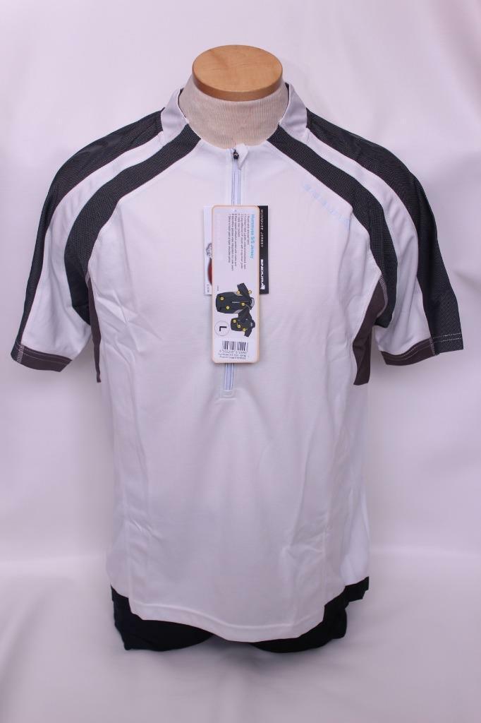 New Endura Men's Hummvee Jersey Cycling Bike Medium Short Sleeve White