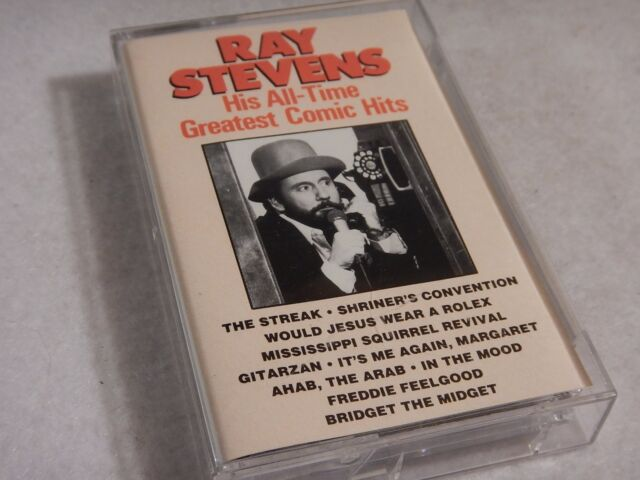 Ray Stevens...His All Time Greatest Comic Hits - 1990 Cassette Tape