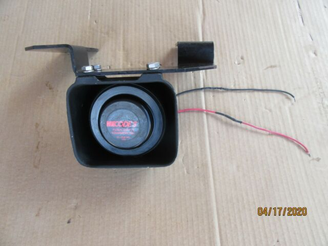 CODE 3 Police//Ambulance Fire Siren Speaker