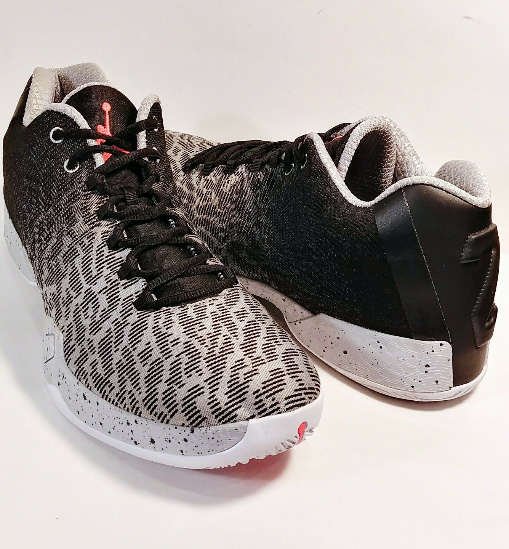 Nike air jordan xx9 basso 828051-003 nero infrarossi grey scarpe 14 quasi nuova