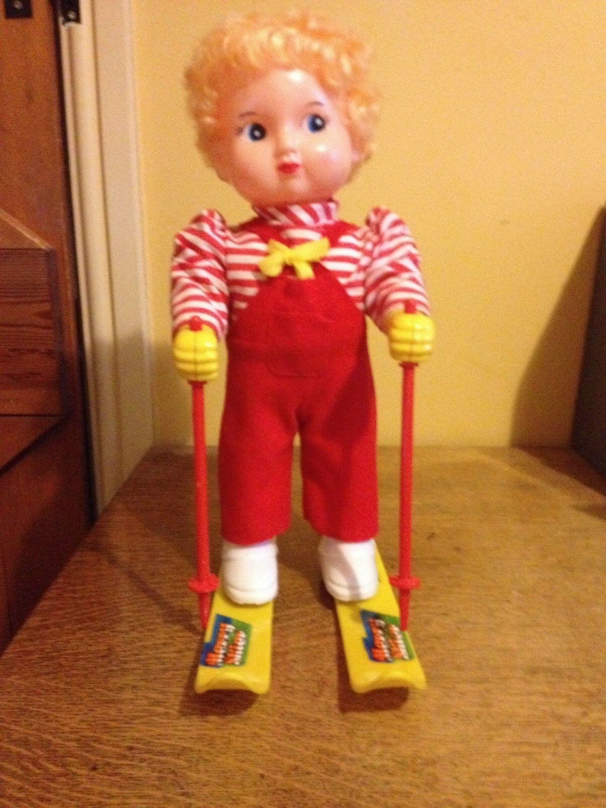 Vintage Merry Skier Doll - Battery Operated with Music