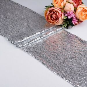 Glitter-Sequin-Table-Runner-Cloth-Cover-Sparkly-Wedding-Party-Adorn-Shiny-Bling