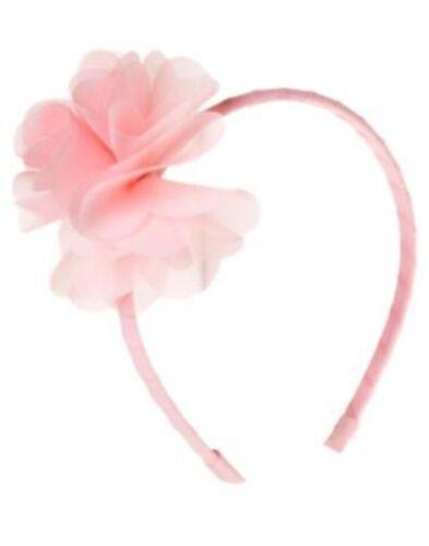 GYMBOREE ALOHA SUNSHINE LIGHT PINK FLOWER HEADBAND NWT-OT