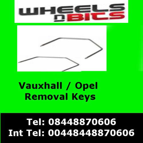 ct22vx01 Vauxhall Antara 2007 Onwards Car Radio stereo Release Removal Keys Opel
