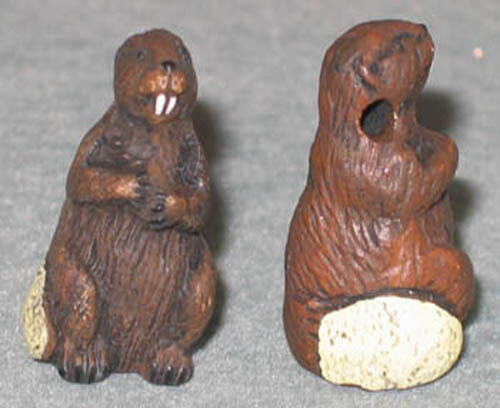 WOOD BADGE WILDLIFE BEAVER PIN WOODBADGE