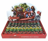 Marvel Avengers Self Ink Stamps Birthday Party Favors Bag Filler Supplies
