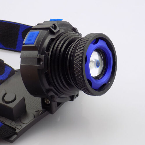 Zoom Q5 LED Headlamp Head Flashlight Powerful Lamp light Torches for fishing