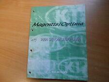 Werkstatthandbuch Schaltpläne Stromlaufpläne KIA Magentis / Optima Modell 2004