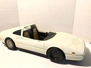 Vintage Barbie White Ferrari Cabrio Auto Bitte Lesen Beschreibung Ebay