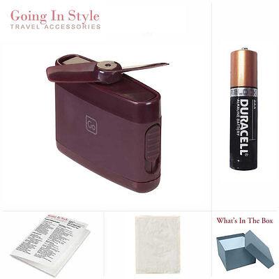 Travel Fan w/ Backup AAA Battery Bag Travel Set | Going In Style