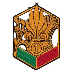 Ecusson-Patch-1er-REG-1er-Regiment-Etranger-de-Genie