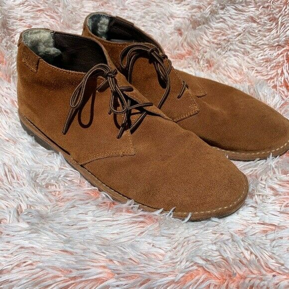 Emu Sheerling Fur Chukka Bootie Size 13