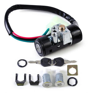Moped Ignition Switch Key Lock 5 Wire fits Chinese Scooter Part GY6 ...