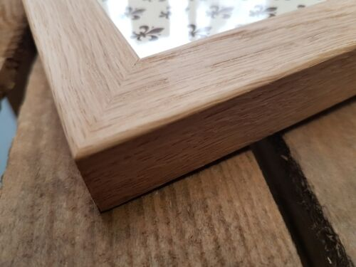 PACK OF 4 FRAMES SOLID OAK PICTURE FRAMES MADE IN CUMBRIA