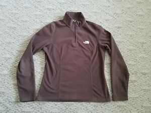 f9d907b1b Details about EUC Women's TNF The North Face TKA 100 Fleece Pullover Color  Brown Size Medium M