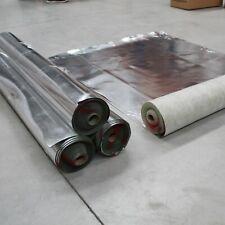 70 qm² Vinyl Laminat Parkett Korkboden Trittschalldämmung Trittschall mit ALU
