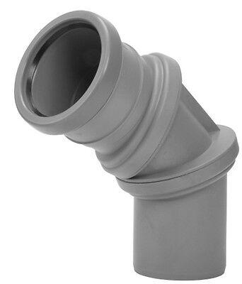 Universal Flexibel Bogen Anschlussbogen Anschluß Abwasseranlagen 32 mm