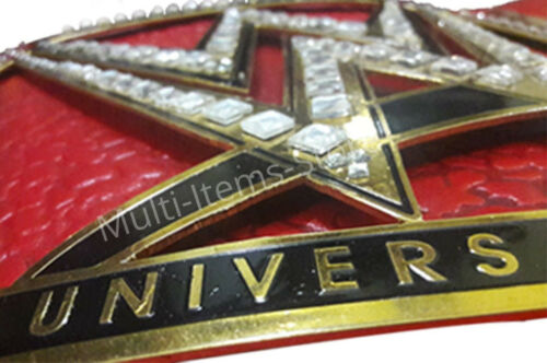 "WWE Universal Wrestling Championship Replica Belt 51/"" 4mm top christmas gift"