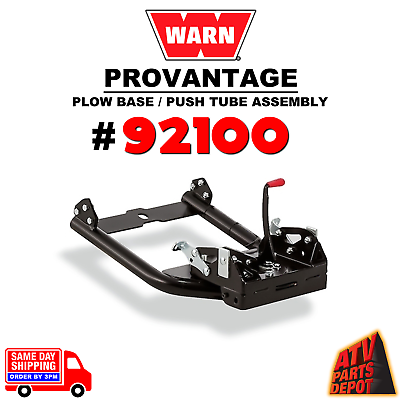 Warn ProVantage Plow Base//Push Tube Assembly for Front Mounting Kits  92100