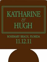 Wedding Koozies 6285 25 To 300 Custom Personalized Can Party Favors