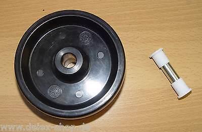 Räder Rollen  Ø 100 mm Hitzebeständig Stikkenrad mit Teflonachse Teflonbuchsen