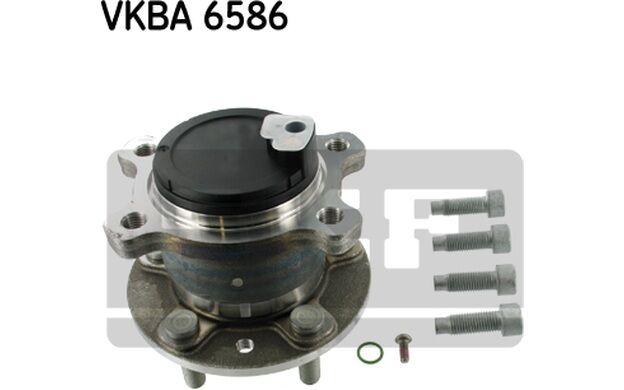 SKF Cubo de rueda FORD MONDEO VKBA 6586