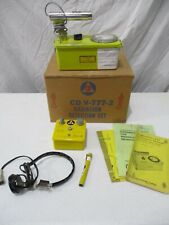 Civil Defense Victoreen Cdv 700 Geiger Counter Survey Meter Set Charger Pens