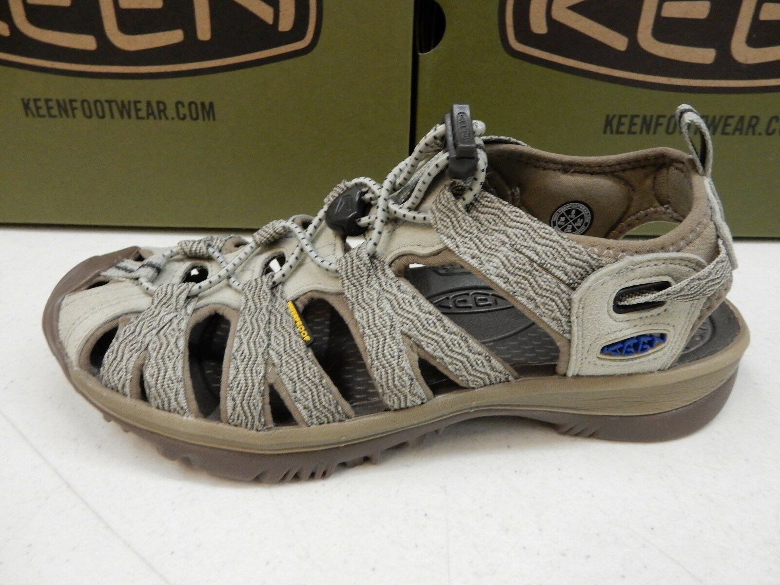 KEEN WOMENS SANDALS WHISPER AGATE GREY blueE OPAL SIZE 7